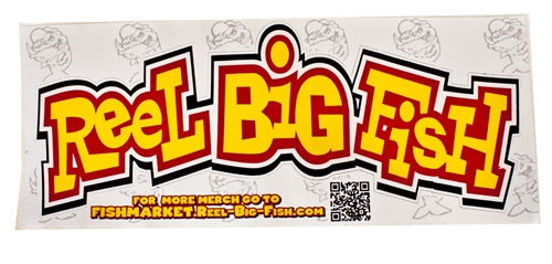 Reel Big Fish Throwback Logo Sticker