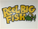 Silly Fish logo sticker