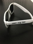 Ska check sunglasses - white stems