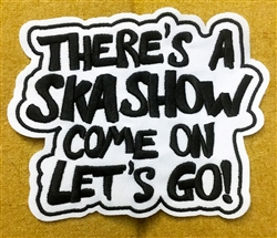 Ska Show embroidered patch