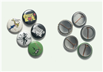 5 pinback buttons - The Forces of Evil