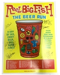 The Beer Run Autographed 2017 Tour Poster