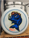 Hand-painted drum head - v13-7
