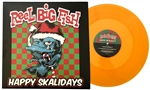Happy Skalidays limited edition gold translucent vinyl LP