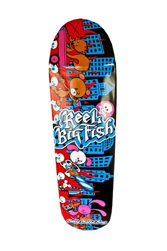 Candy Coated Fury Skate Deck