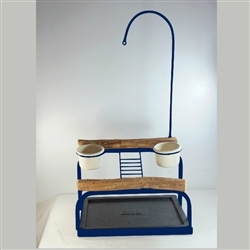 Deluxe Traveler Table Top - Top Only - Textured Midnight Blue