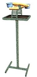 Hilltop Playtop Traveler Stand - Textured Green
