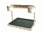Traveler Table Top - Top Only - Textured Desert Stone