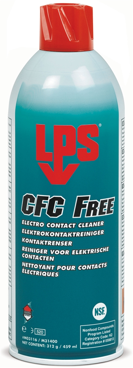 LPS 03116 CFC Free Electro Contact Cleaner Aerosol MIL-PRF-29608 - 16 oz  Spray Can