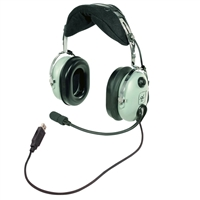 David Clark (H-USB) 40642G-03 | Headsets