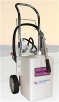 5-GALLON HYDRAULIC AND ENGINE OIL  CART DISPENSER