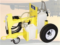 5-GALLON HYDRAULIC AND ENGINE OIL STANDARD TOWABLE CART DISPENSER