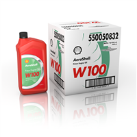 AEROSHELL OIL W100 - 12 QT CASE