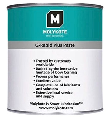 Dow Corning Molykote G-Rapid Plus Solid Lubricant Paste - 250 GR Can