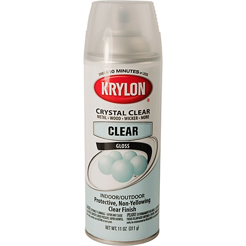 Krylon  Gloss Black Paint  Oz Aerosol