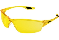 "MCR ""The Law"" Safety Glasses (Amber)"