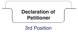 Bottom Tab - Declaration of Petitioner - Pos. 3