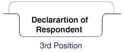 Bottom Tab - Declaration of Respondent - Pos. 3