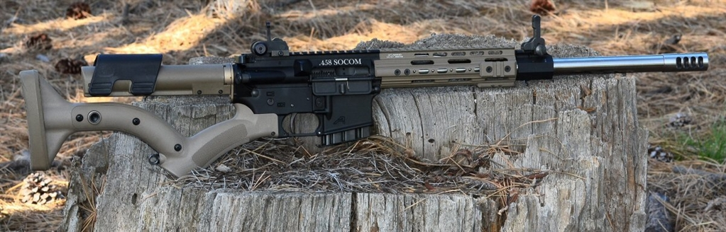 458 socom ar 15 rifle custom made in the united states by us