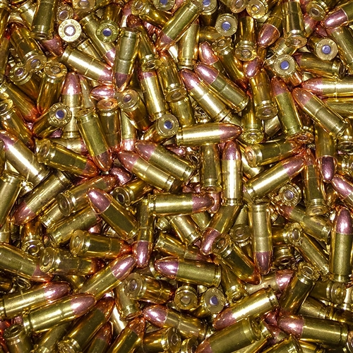 9 mm Luger Ammunition, Reloaded and New Manufacture for sale