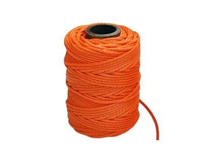 Orange Dyneema 1.75mm Jet Set Rope