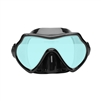 Oceanways Superview-SL TrueColor w/Anti-Fog Scuba Dive Mask (OM836BKSFF)