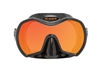 Sea Dive Frameless Monarch Rayblocker HD w/Anti-Fog Dive Mask (SMA980BS)