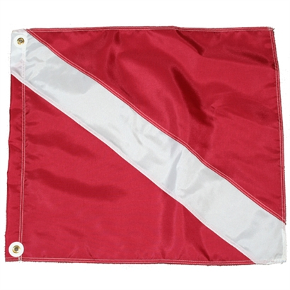 nylon dive flag