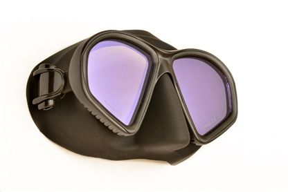 Sea Sports Low Volume Amber View Dive Mask