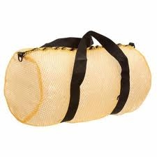 mesh duffel dive bag