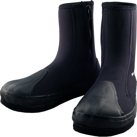 208c0777b1cf Sea Sports Neoprene Felt-Sole High Top Zipper Tabi Boots