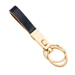 VIVO Genuine Shagreen Valet Key Fob