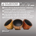 Triple C Designs bluBOOM Bluetooth Speaker