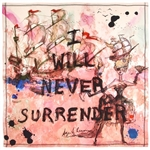 Age of Reason I Will Never Surrender Scarf
