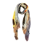 ShawLux Art Deco Sunset Scarf