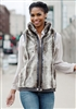 Fabulous Furs Chinchilla Faux Fur Zip Vest