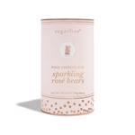 Sugarfina Pink Chocolate Sparkling Rosé Bears Canister