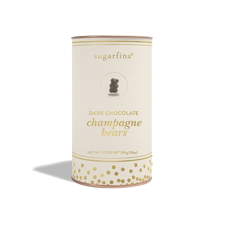 Sugarfina Dark Chocolate Champagne Bears Canister