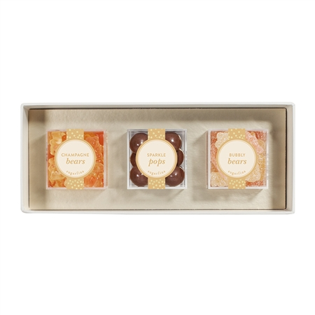 Sugarfina Sweet & Sparkling 3pc Candy Bento Box