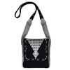 Sergio Gutierrez Liquid Metal Collection Cross Body Bag LTBAG1