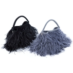 MooMoo Designs Ostrich Evening Bag