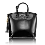 Abigail Riggs First Lady Series Purse in Patent Leather - Large
