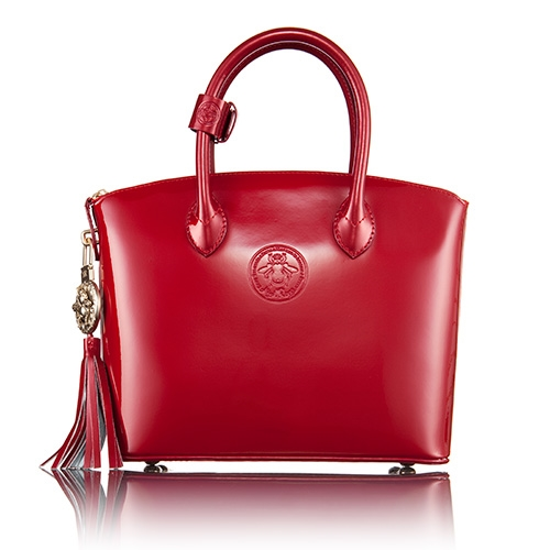 3cab66cf22e Abigail Riggs First Lady Series Purse in Patent Leather - Small