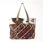 Muche et Muchette Large Pony Hair Tote