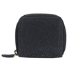 VIVO Shagreen Zip Around Key or Coin Case