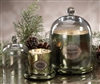 Zodax Illuminazione Domed Candle Jar - Olive Green / Large