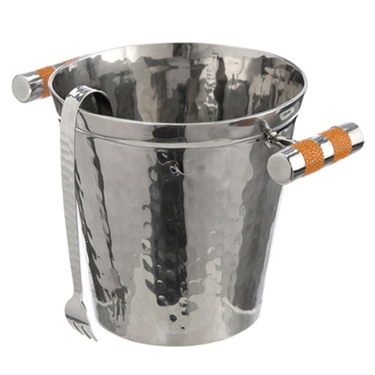 VIVO Genuine Shagreen Stainless Ice Bucket