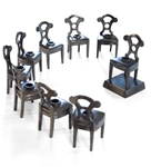 Forgotten Judaica The Chanukah Chair Menorah