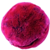 Evelyne Prélonge Medium Round Faux Fur Pillow