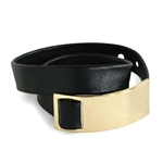 russell+hazel® Leather Wrap Bracelet